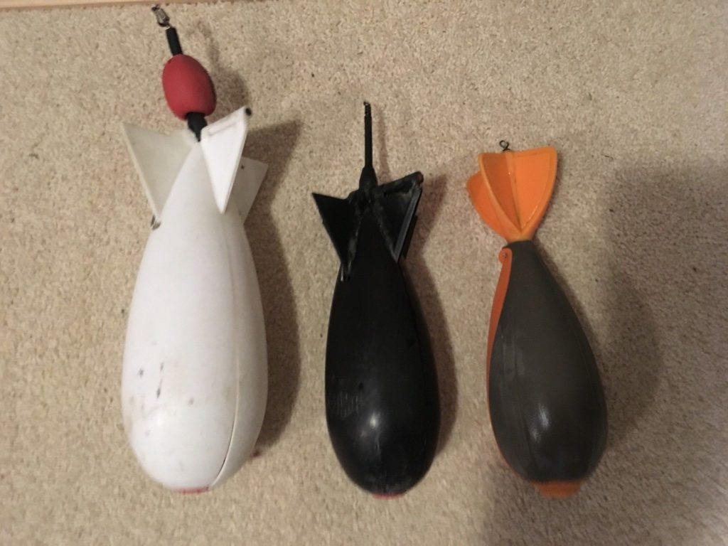 Large Spomb, Medium Spomb and Fox Spod